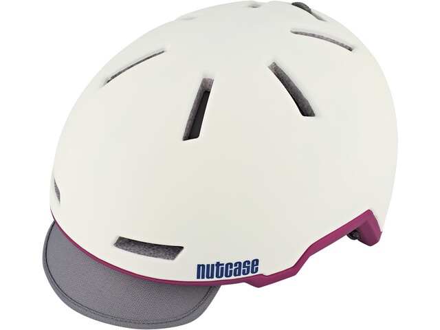Nutcase Tracer Casque, shell white matte
